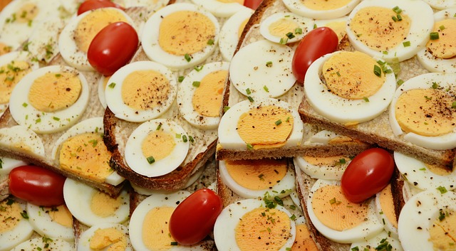 nutrientes de los huevos